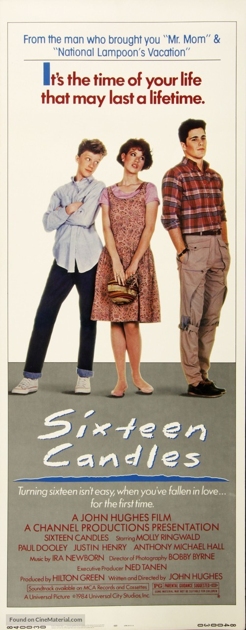 Sixteen Candles (1984) movie poster
