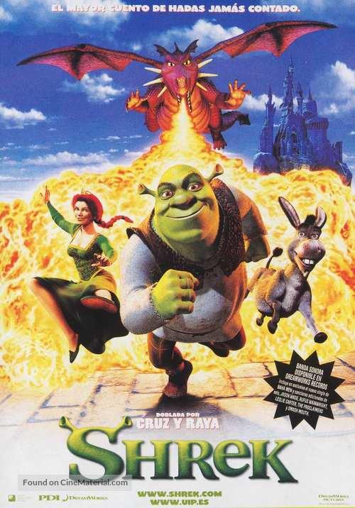 Shrek - Spanish Movie Poster