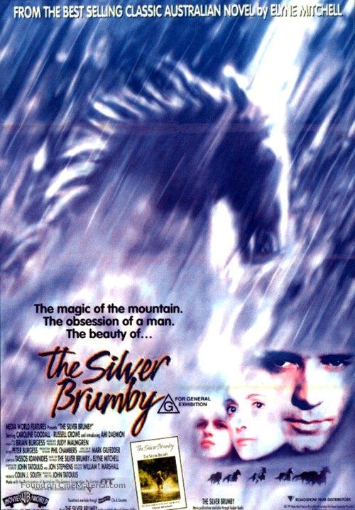 The Silver Brumby - Australian Movie Poster