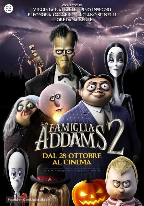 The Addams Family 2 - Italian Movie Poster