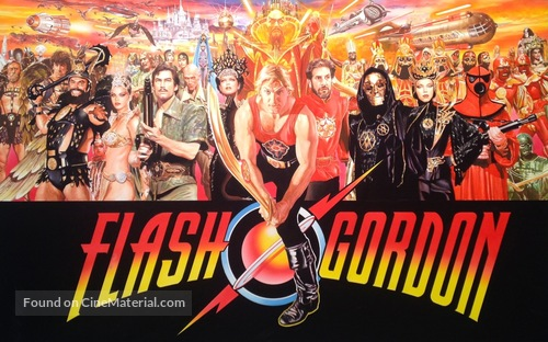 Flash Gordon - Movie Poster