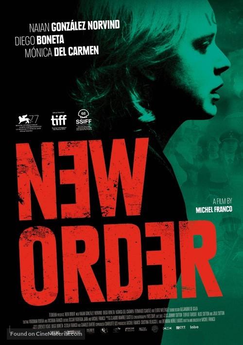 Nuevo orden - International Movie Poster
