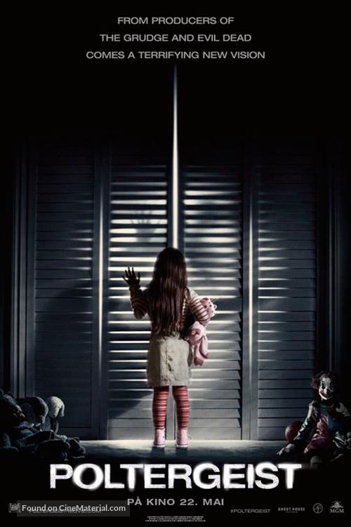 Poltergeist - Norwegian Movie Poster