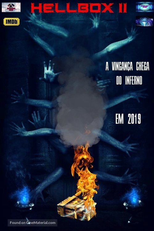 Hellbox II: A Dimensão Negra - Portuguese Movie Poster