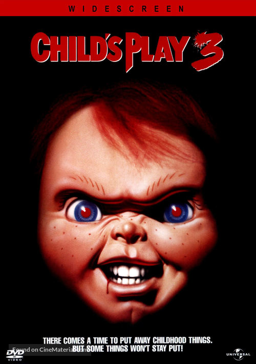 Child's Play 3 - DVD movie cover