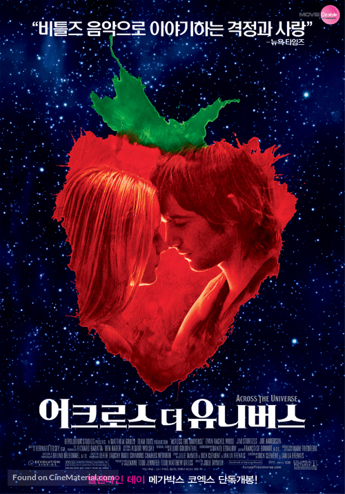 Across the Universe - South Korean Movie Poster