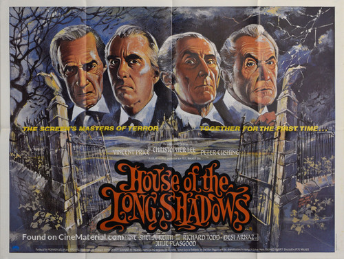 House of the Long Shadows - British Movie Poster