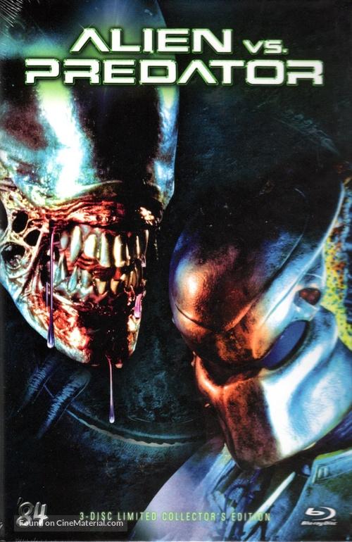 Avp Alien Vs Predator 2004 German Blu Ray Movie Cover