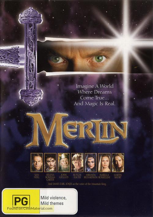 Merlin - Australian Movie Cover