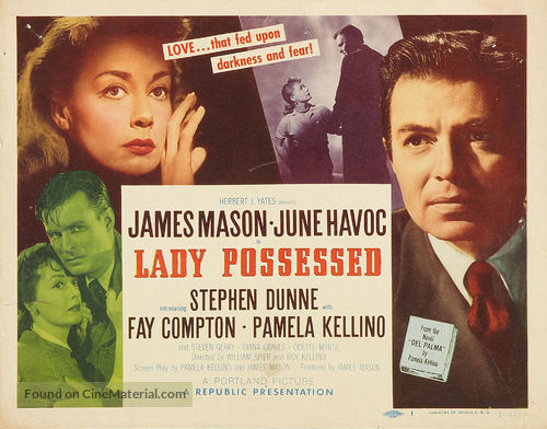 A Lady Possessed - Movie Poster