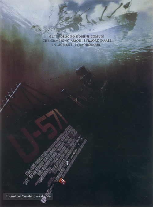 U-571 - Italian Movie Poster