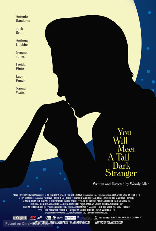 You Will Meet a Tall Dark Stranger - Canadian Movie Poster