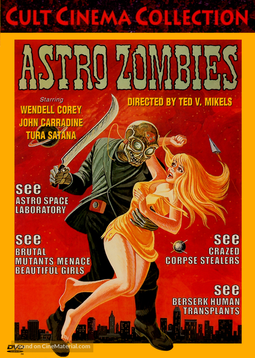 The Astro-Zombies - Movie Cover