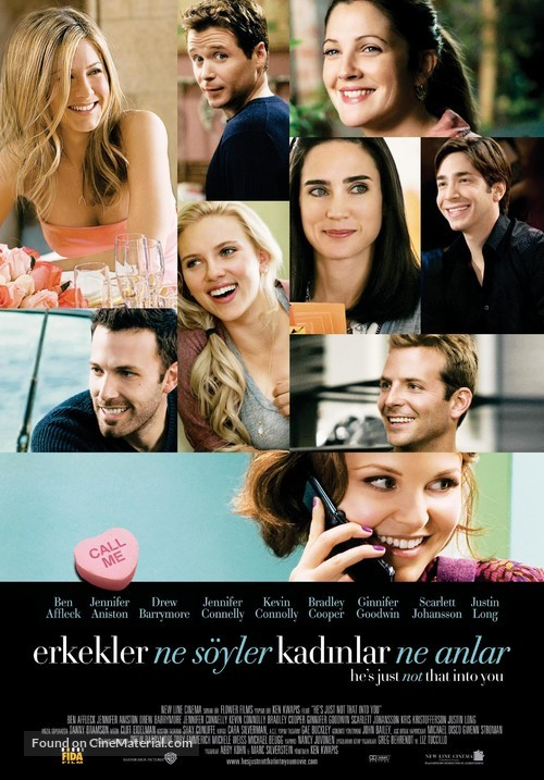 He's Just Not That Into You - Turkish Movie Poster