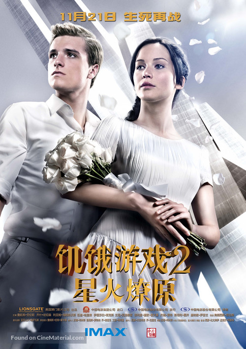 The Hunger Games: Catching Fire - Chinese Movie Poster