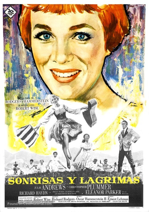 The Sound of Music - Spanish Movie Poster