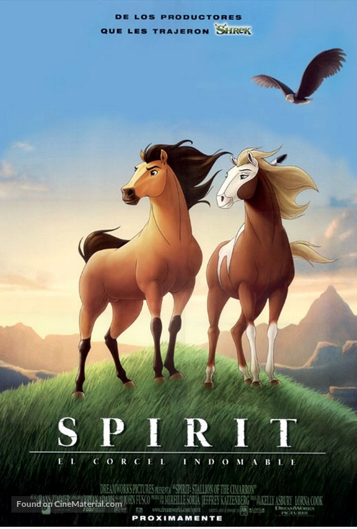 Spirit: Stallion of the Cimarron - Spanish Movie Poster