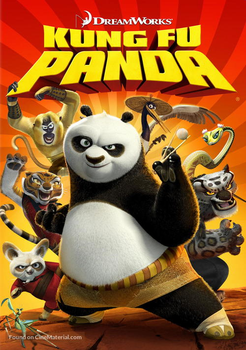 Kung Fu Panda - Movie Cover