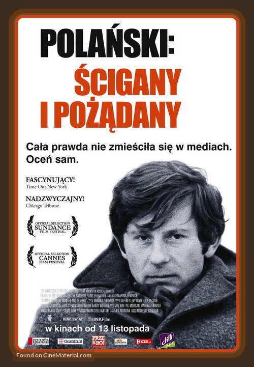 Roman Polanski: Wanted and Desired - Polish Movie Poster