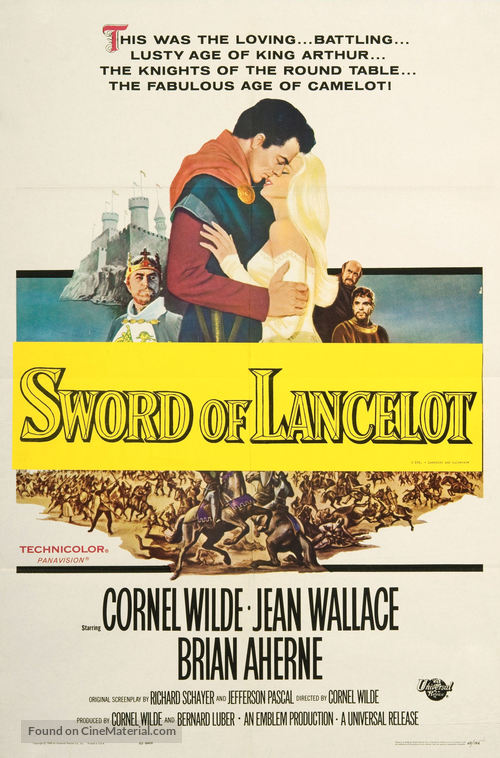 Lancelot and Guinevere - Movie Poster