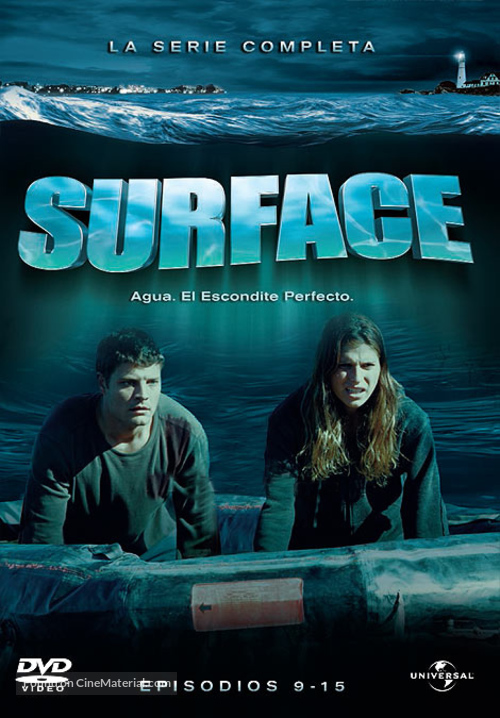 """""""Surface"""" - Spanish DVD movie cover"""
