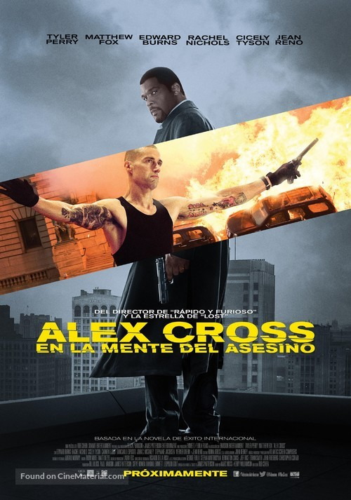 Alex Cross - Mexican Movie Poster