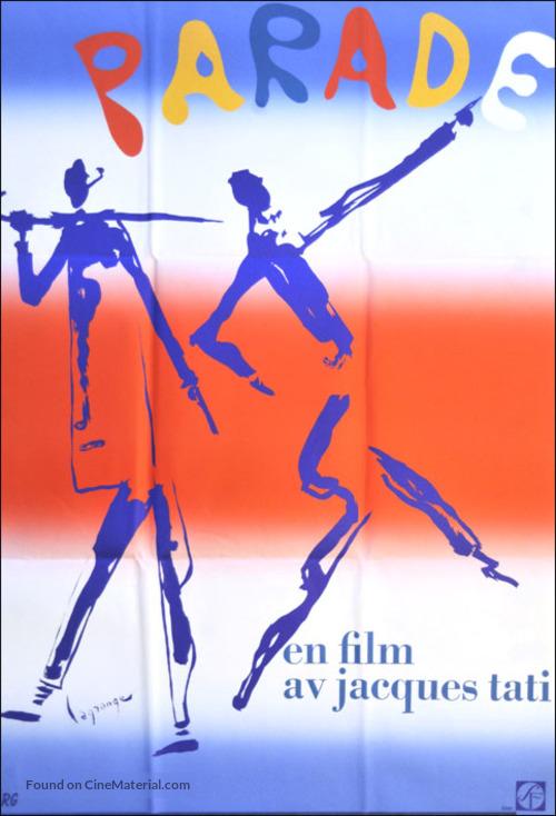 Parade - Swedish Movie Poster