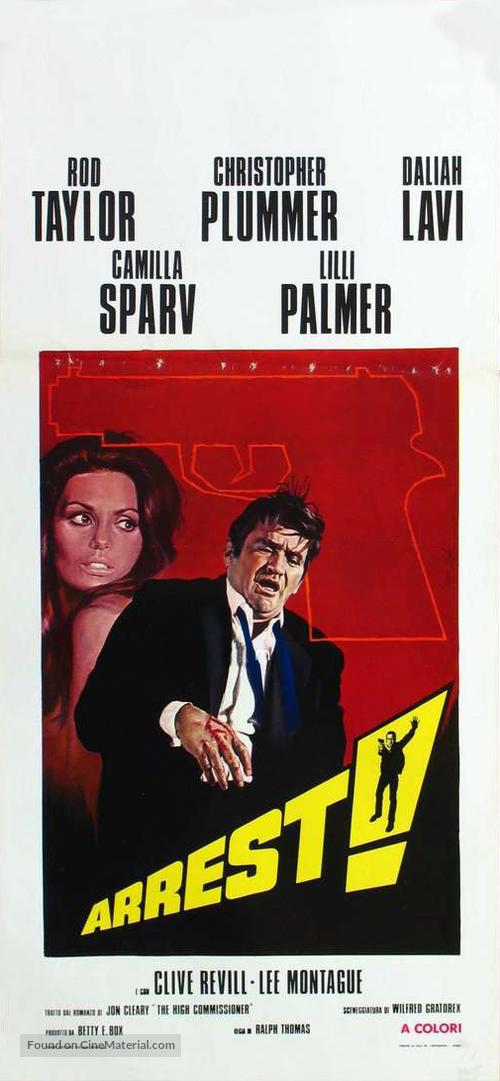 Nobody Runs Forever - Italian Movie Poster