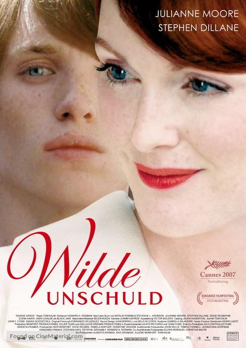 Savage Grace - German Movie Poster