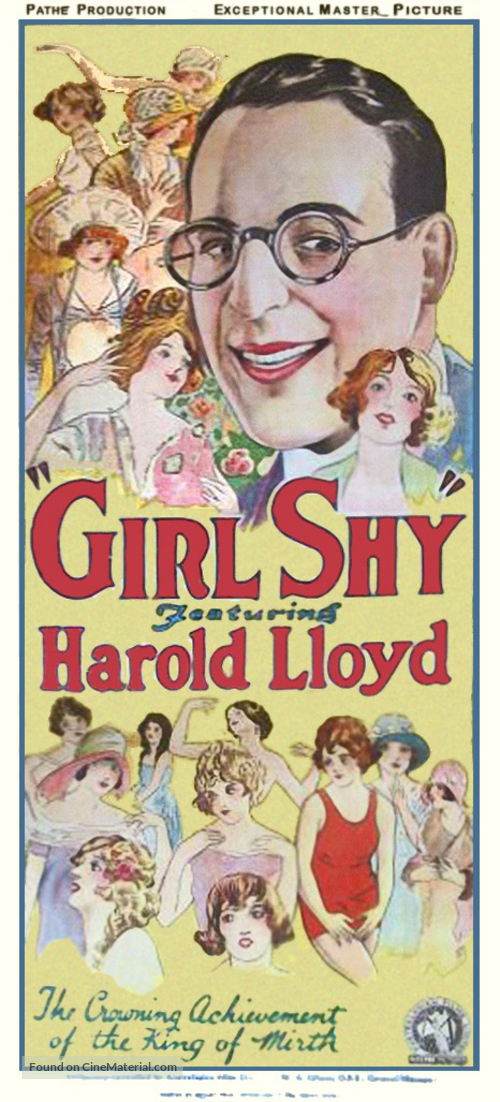 Girl Shy - Movie Poster