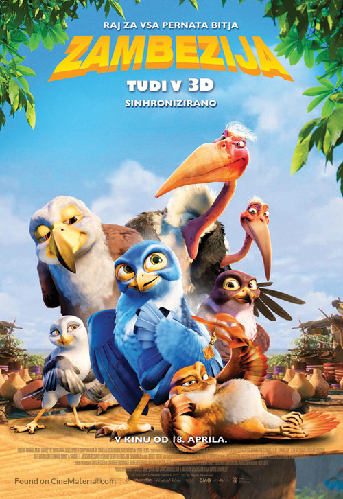Zambezia - Slovenian Movie Poster