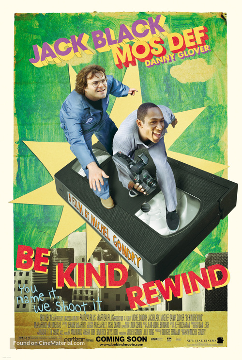 Be Kind Rewind - Movie Poster