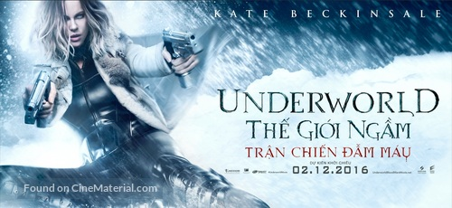 Underworld Blood Wars - Vietnamese poster
