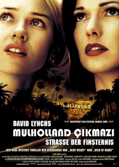 Mulholland Dr. - Turkish Movie Poster