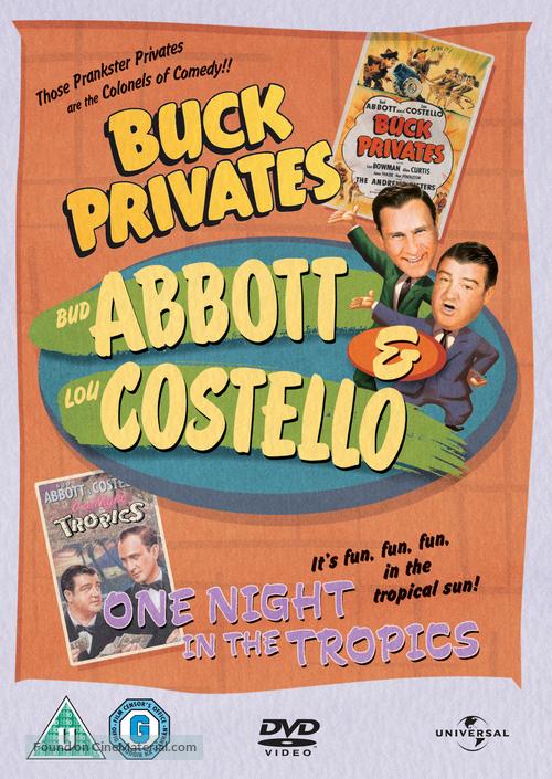 Buck Privates - British DVD movie cover