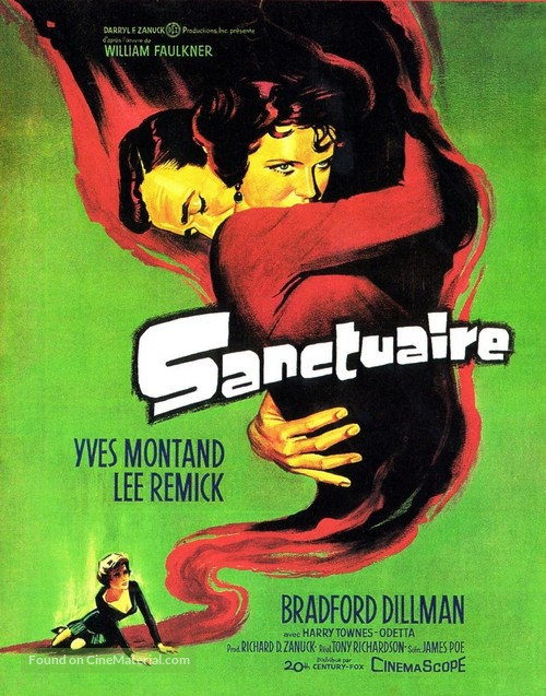 Sanctuary - French Movie Poster