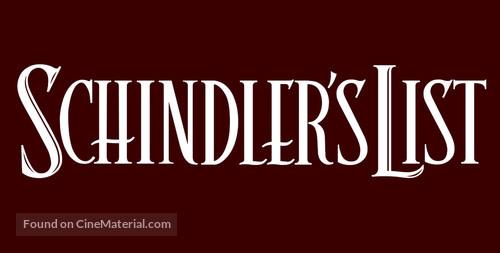 Schindler's List - Logo