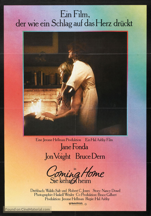 Coming Home - German Movie Poster