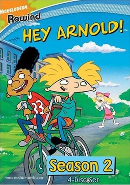 """Hey Arnold!"" - DVD movie cover"