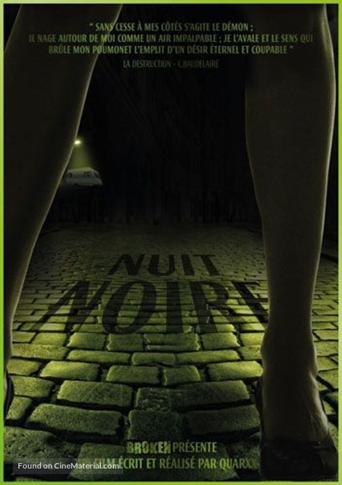 Nuit noire - French Movie Poster