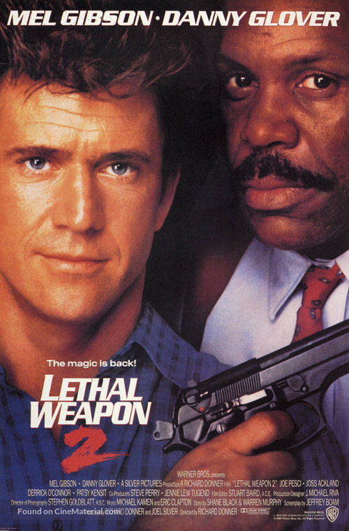 Lethal Weapon 2 - Movie Poster