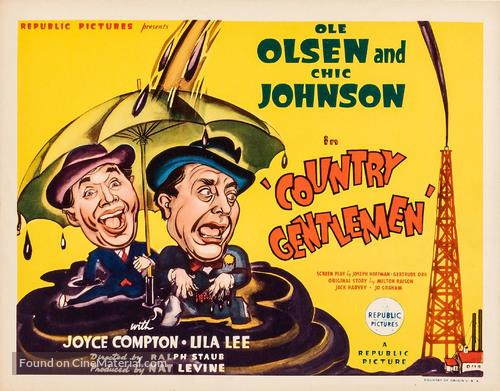 Country Gentlemen - Movie Poster