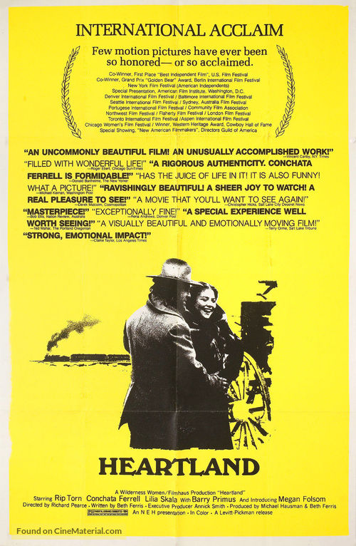 Heartland - Movie Poster
