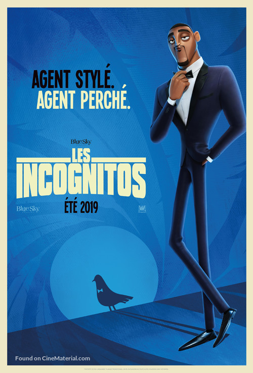 Spies in Disguise - French Movie Poster