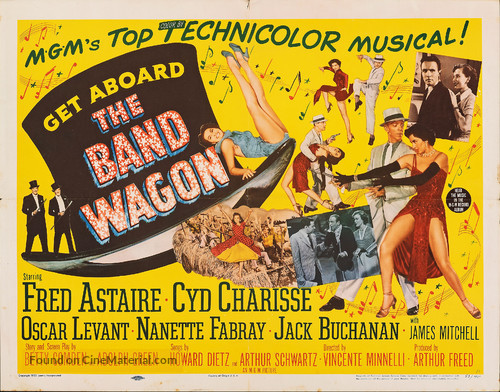 The Band Wagon - Movie Poster