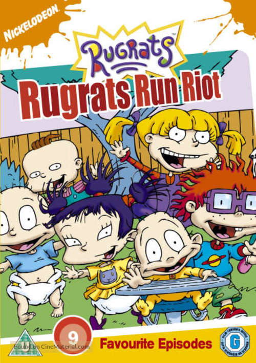 """""""Rugrats"""" - British DVD movie cover"""