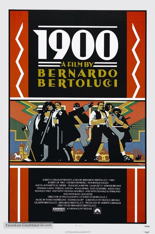 Novecento - Movie Poster