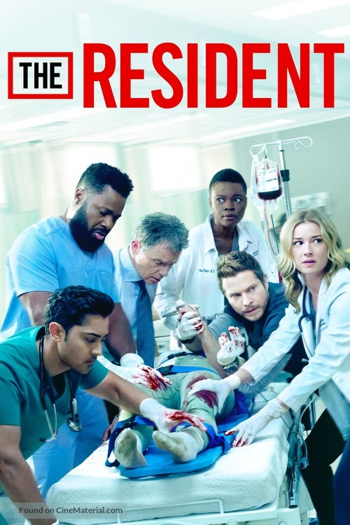 """""""The Resident"""" - Movie Poster"""