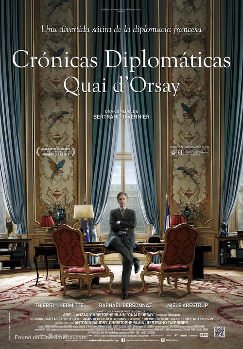 Quai d'Orsay - Spanish Movie Poster