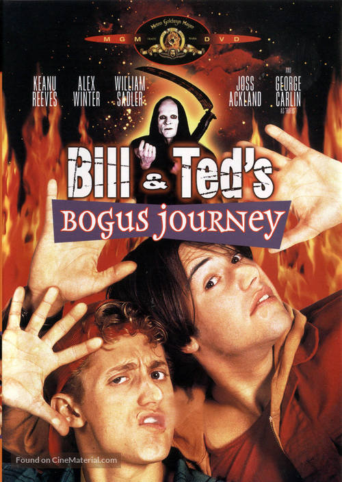 Bill & Ted's Bogus Journey - DVD movie cover